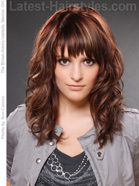 The Best Medium Choppy Hairstyles With Bangs Pictures