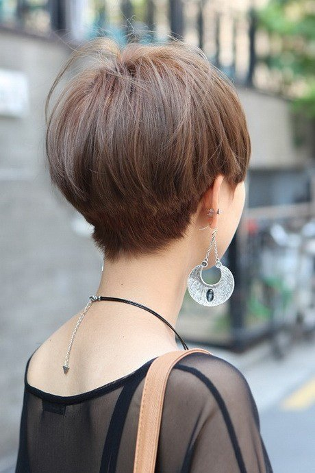 The Best Short Hair Styles Back View Pictures