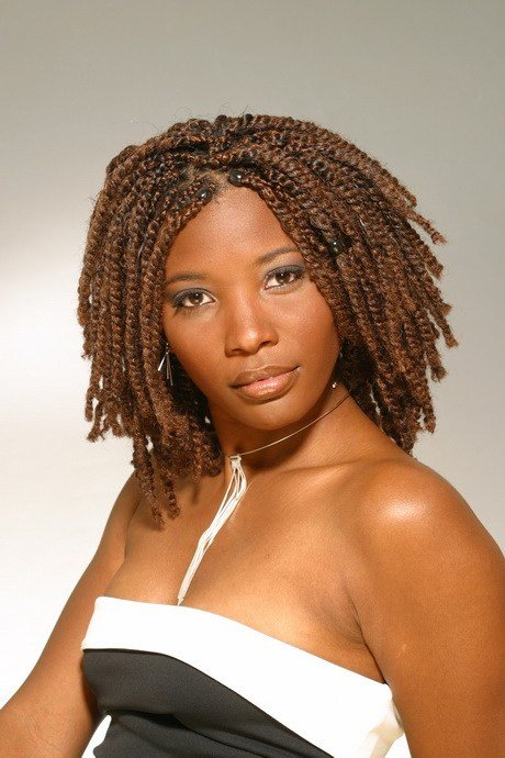 The Best Twists Hairstyles For Black Women Pictures