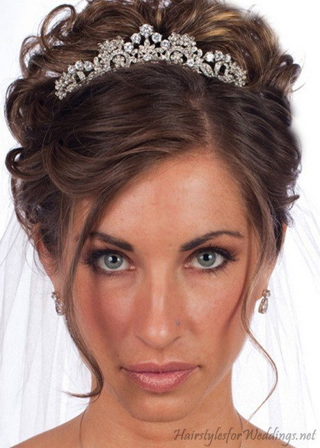 The Best Wedding Hair Tiaras Pictures