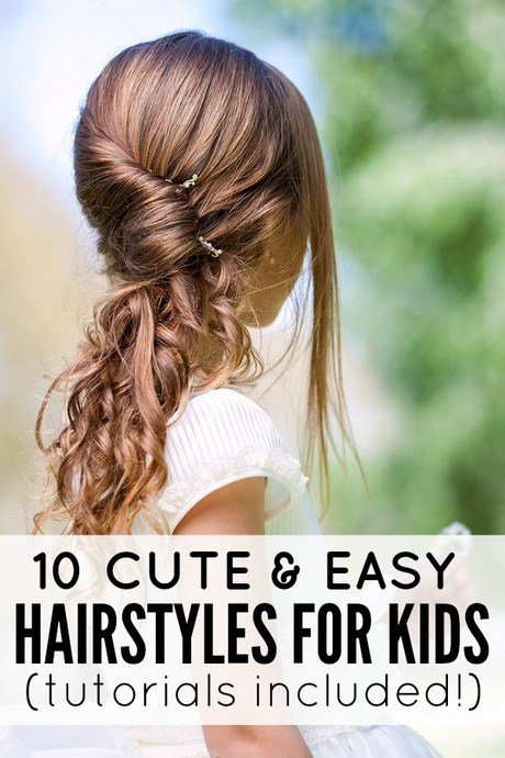 The Best 10 Easy Hairstyles For School Pictures Original 1024 x 768