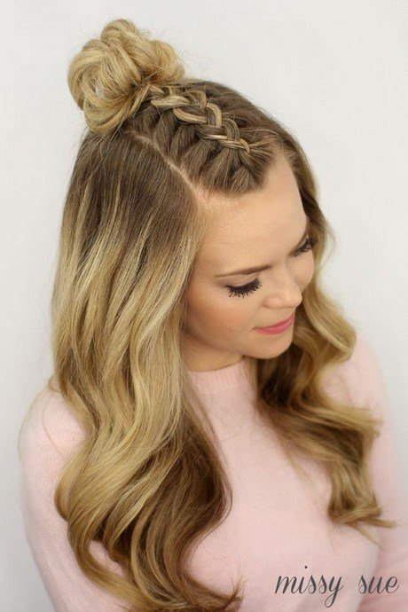 The Best Different Hairstyles For Braided Hair Pictures