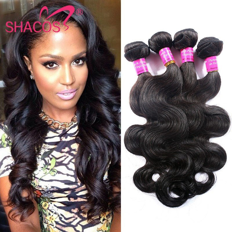 The Best Peruvian V*Rg*N Hair Body Wave 4Pcs Queen Hair Products Pictures