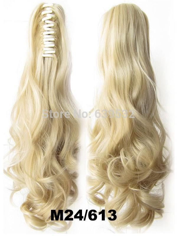 The Best New Fashion Jaw Claw Ponytail Wavy Curl Drawstring Pictures