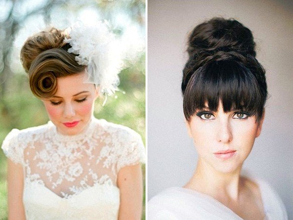 The Best Got Bangs 5 Fringe Friendly Wedding Hairstyles Pictures