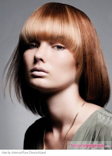 The Best Pictures Medium Long Hairstyles Medium Two Tone Bob Hair Style Pictures