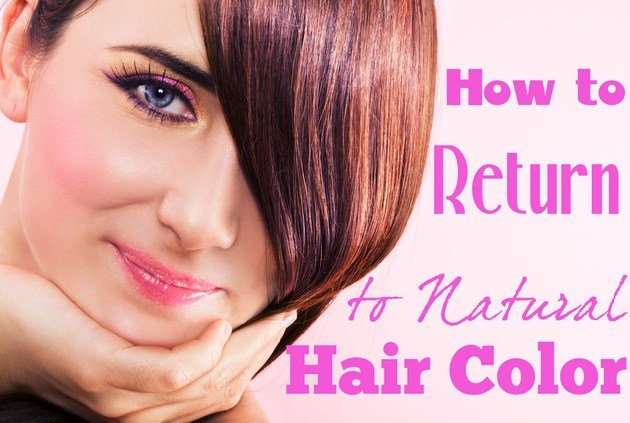The Best How To Go Back To Your Natural Hair Color Pictures