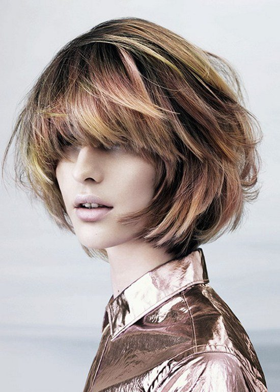 The Best Pictures Best Short Haircuts For Round Faces Layered Pictures