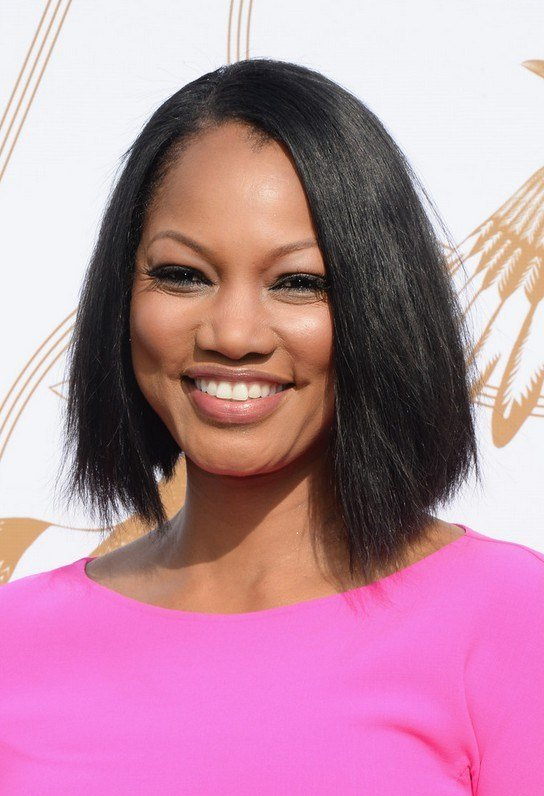 The Best Garcelle Beauvais Asymmetrical Black Straight Hairstyle Pictures