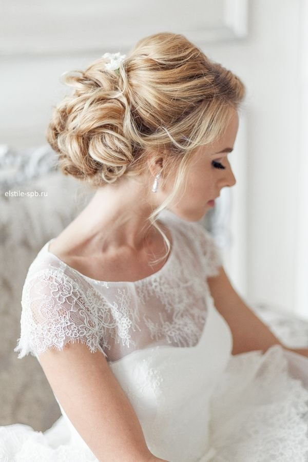 The Best Elegant Wedding Hairstyles Part Ii Bridal Updos Tulle Pictures