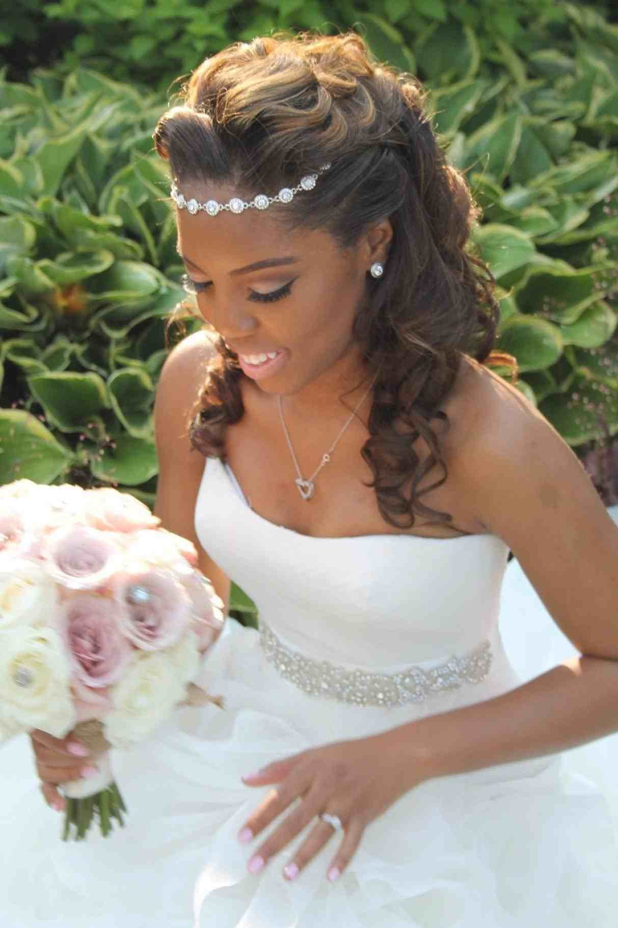 The Best Hairstyle On Wedding Day Weddings234 Pictures
