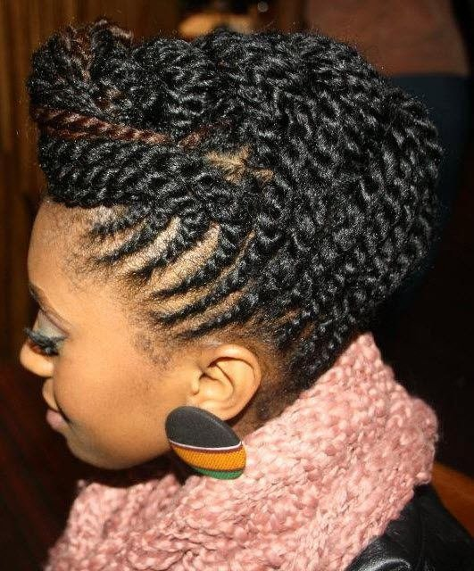 The Best Need A Cute Protective Style 18 Flat Twist Updo Styles Pictures