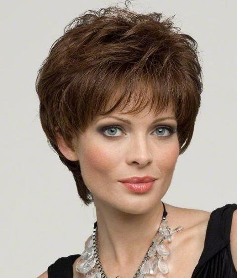 The Best Short Hairstyles For Square Faces – Haircuts Wigs Pictures