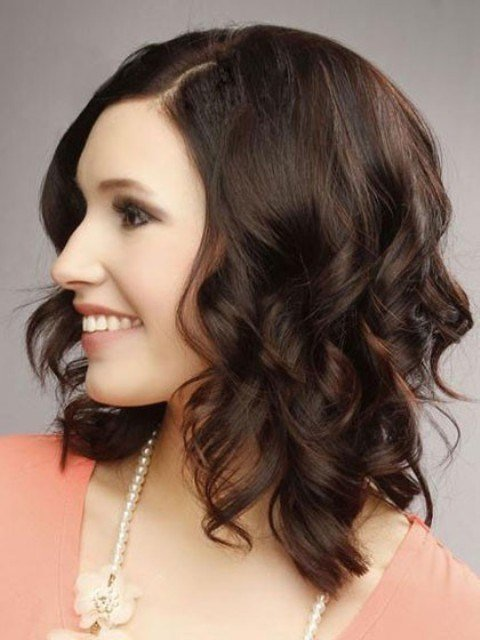 The Best Trendy Medium Length Hairstyles For Round Faces – Pictures
