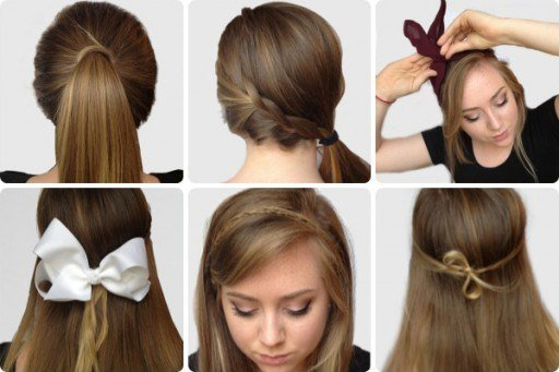 The Best How To Do Six Simple Yet Pretty Hairstyles Step By Step Pictures