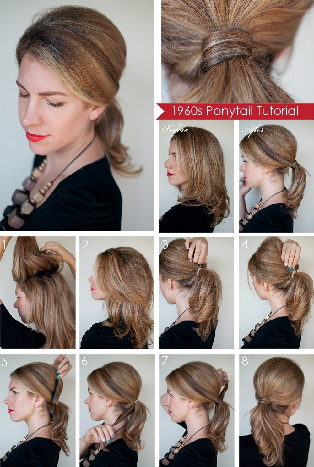 The Best Hairstyle How To Create A 1960S Style Ponytail Hair Romance Pictures