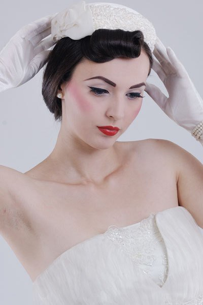 The Best Old Hollywood Glamour Vintage Wedding Hairstyles Pictures