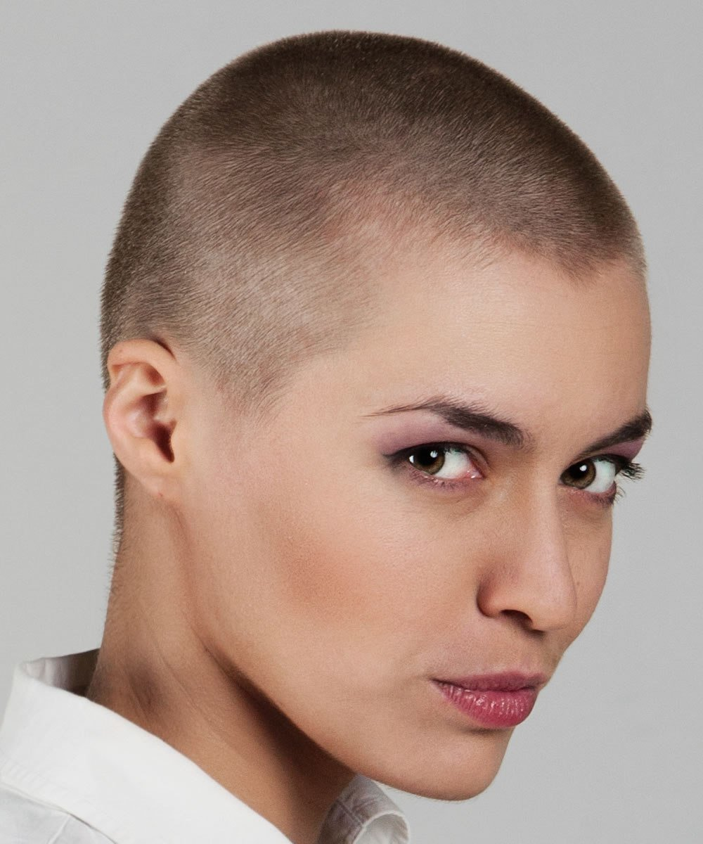 The Best Trends Bald Haircuts Headshave For Women 2018 2019 Pictures