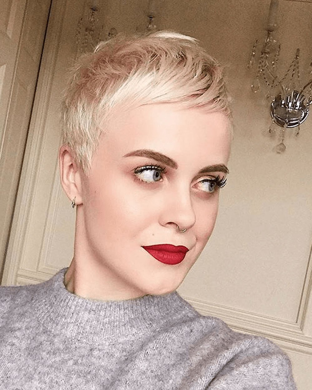 The Best 25 Ultra Short Hairstyles Pixie Haircuts Hair Color Pictures