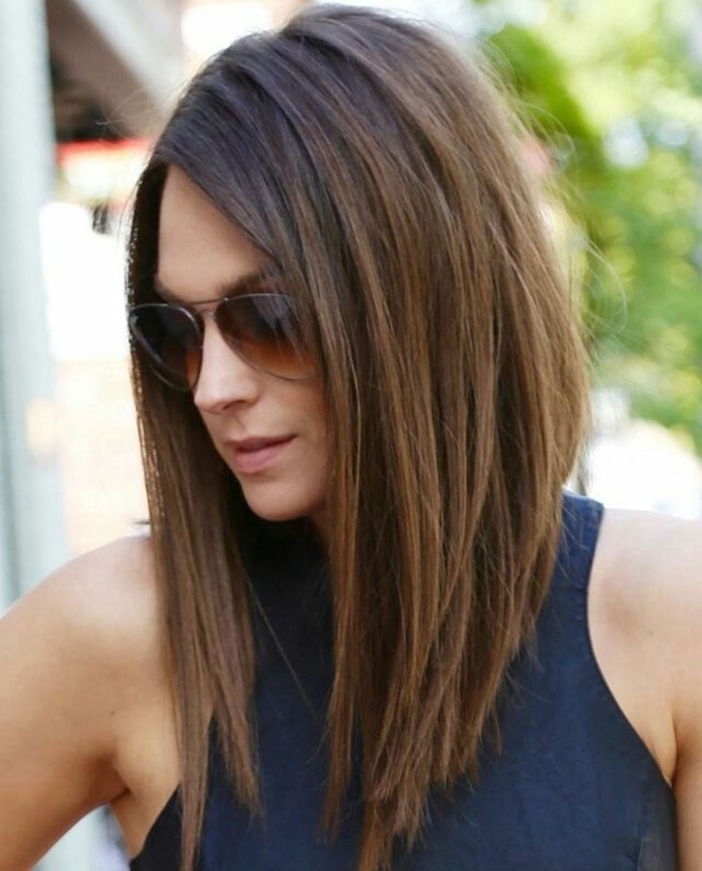 The Best 28 Layered Long Bob Hairstyles And Lob Haircuts 2018 Pictures