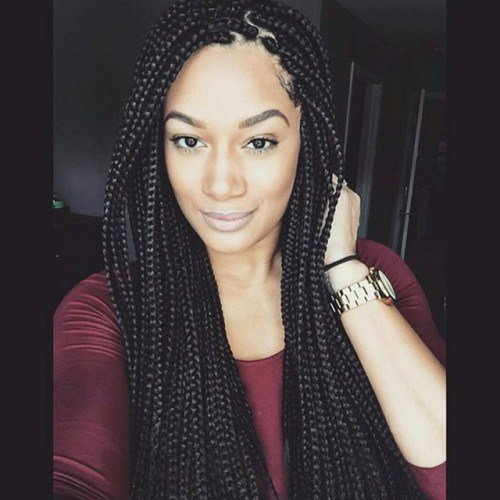 The Best 50 Trendy Box Braids Hairstyles Herinterest Com Pictures