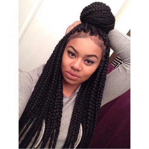The Best 40 Big Box Braids Styles Herinterest Com Pictures