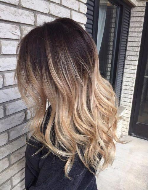 The Best Brown To Blonde Ombre Hair Pictures Photos And Images Pictures