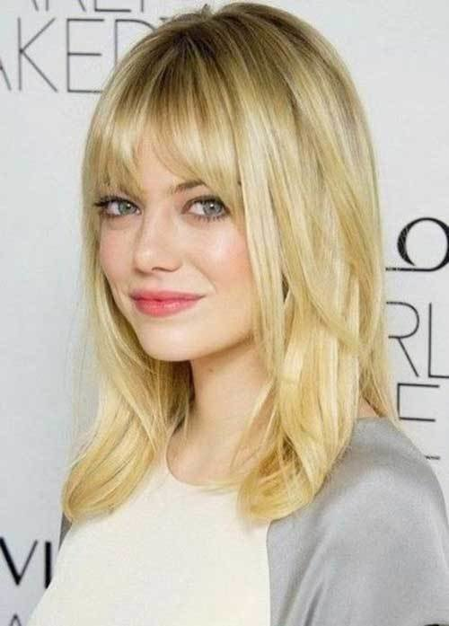The Best 20 Best Medium Hair Cuts With Bangs Hairstyles Haircuts 2016 2017 Pictures