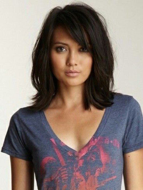The Best 20 Latest Mid Length Hairstyles Hairstyles Haircuts Pictures