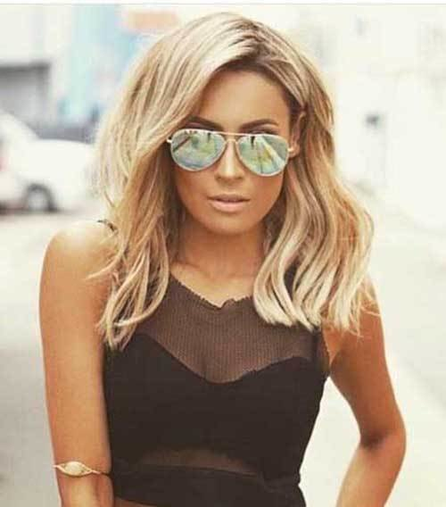 The Best 35 New Medium Long Hair Styles Hairstyles Haircuts 2016 2017 Pictures