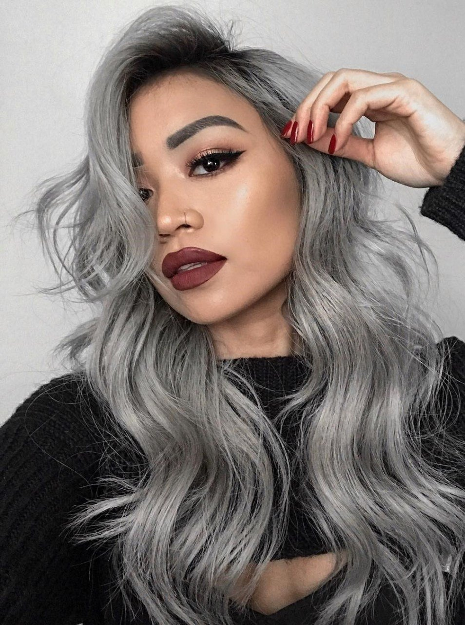 The Best 77 Try On Different Hairstyles Elegant 13 Grey Hair Color Pictures
