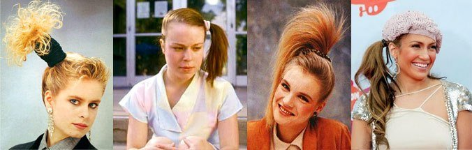The Best Hairstyles In The 1980S Like Totally 80S Pictures