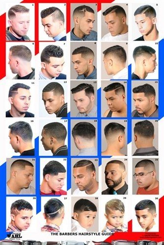 The Best 2014Hm Men S Hairstyles Barber Poster Pictures