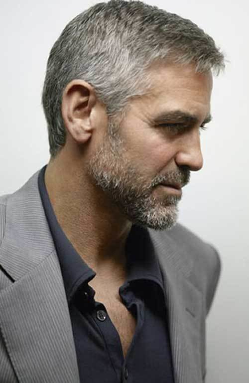 The Best 15 Best George Clooney Short Hair Mens Hairstyles 2018 Pictures
