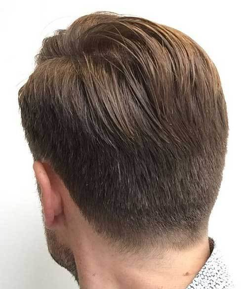 The Best Back View Of Short Haircuts For Men Mens Hairstyles 2018 Pictures