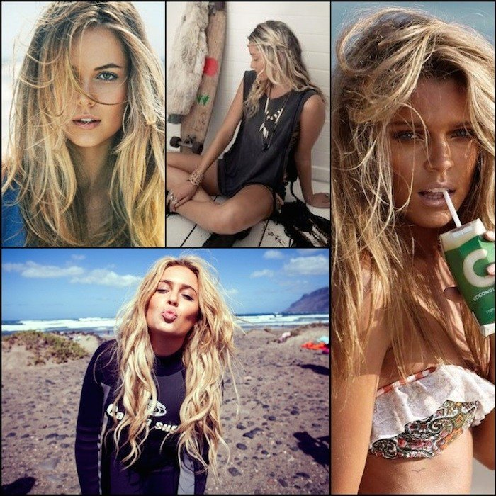 The Best Beachy Waves The Best Hairstyle For Surfer Girls Beauty Pictures