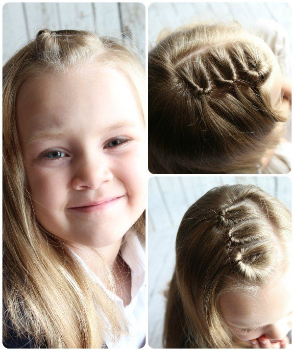 The Best Easy Hairstyles For Little Girls 10 Ideas In 5 Minutes Pictures