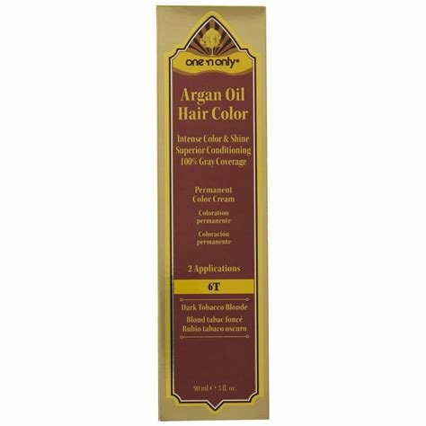 The Best One N Only 6T Dark Tobacco Blonde Argan Oil Permanent Pictures