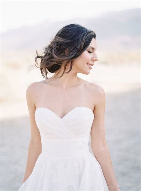 The Best 6 Best Hairstyles Wear With Strapless Wedding Dress Pictures