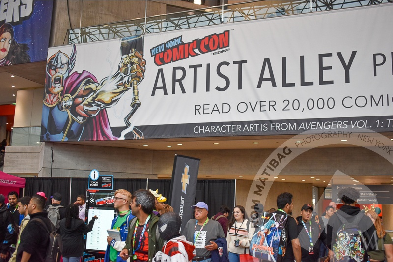 Thor at Artist Alley