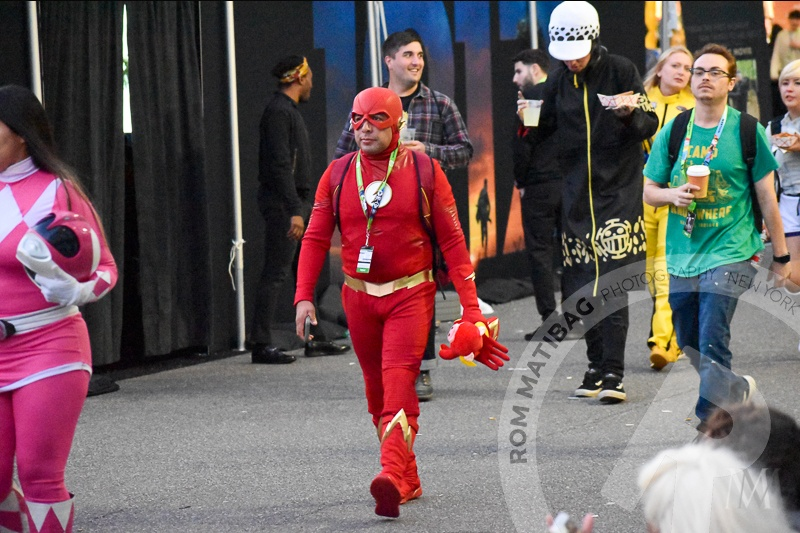 The Flash Cosplayer
