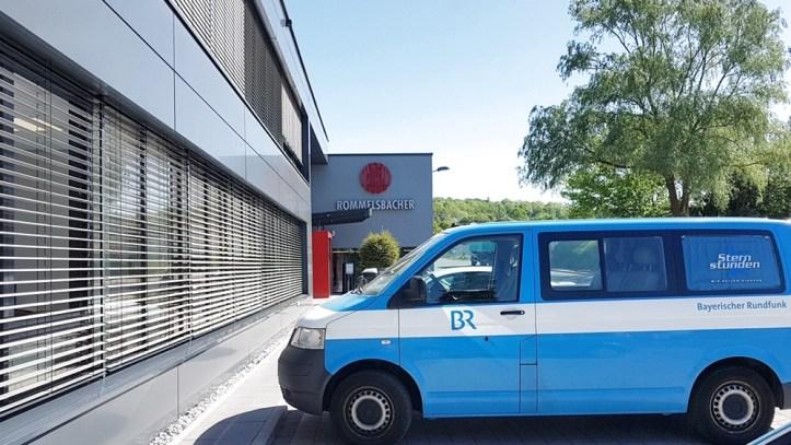 Der Bayerische Rundfunk bei Firma Rommelsbacher