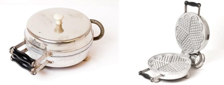 Historische Elektrogeräte von robusta Rommelsbacher, Waffeleisen