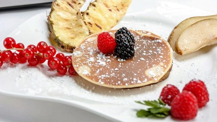 Pancakes mit Früchten