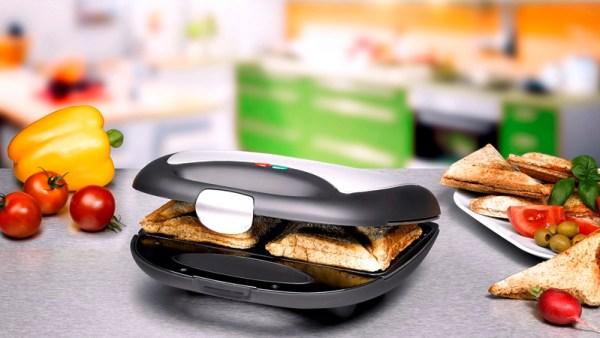 ST 710 Sandwich Maker / Sandwich Toaster von Rommelsbacher
