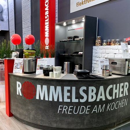 IFA Messestand Rommelsbacher