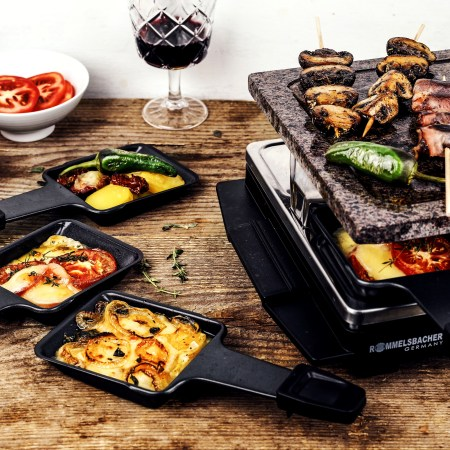 Raclette mit Tapas in Pfaennchen - Rommelsbacher Raclette Grill