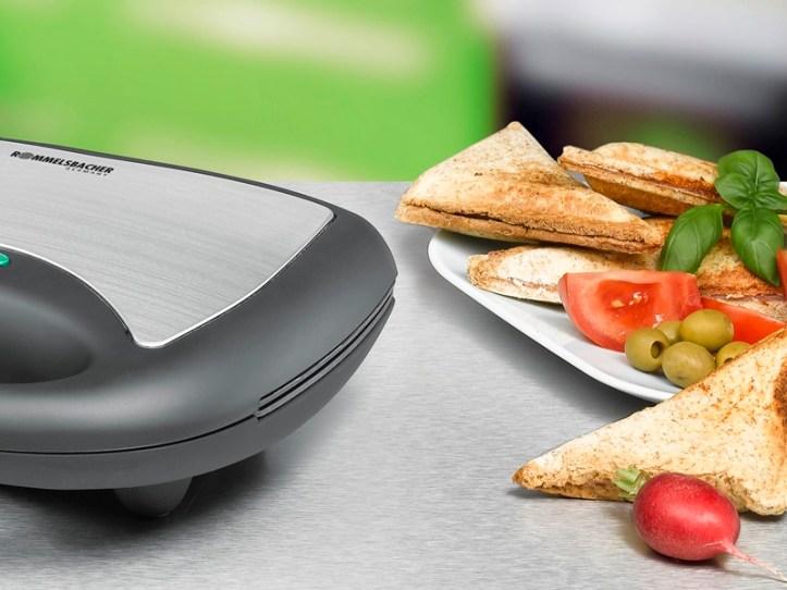 Sandwich Ecken aus dem Rommelsbacher Sandwich toaster