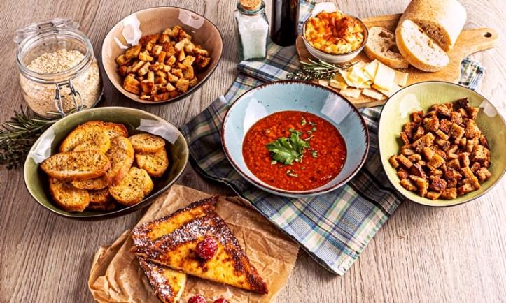 7 Gerichte aus altem Brot - Resteverwerung Expedition Vorratsschrank 1 ROMMELSBACHER