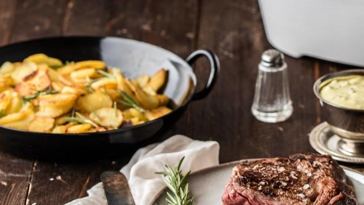 Bratkartoffeln - clevere Resteküche mit Kartoffeln vom Vortag - Rezept  Rommelsbacher